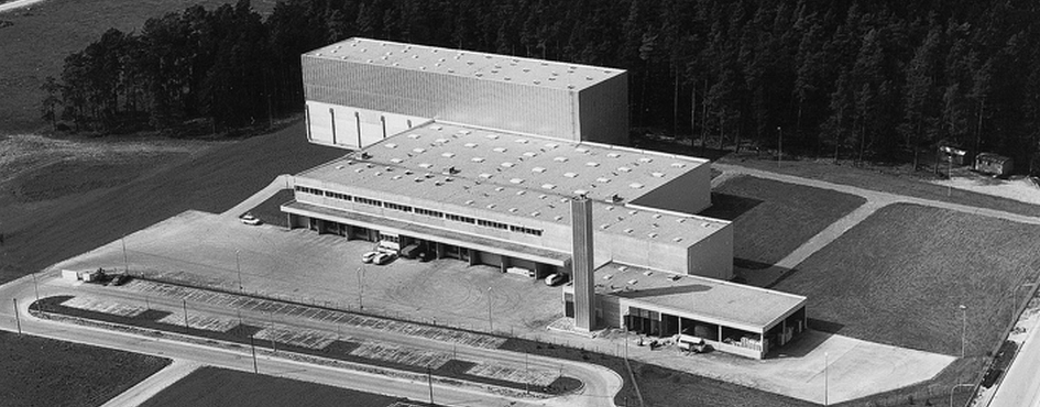 Nagold distribution centre, 1974